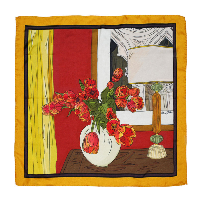 Edoardo Gallorini Interior Foulard red