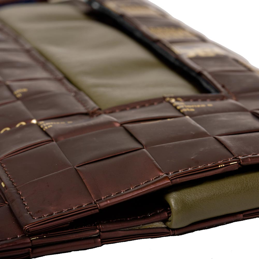 Meraky Ristretto Chocolate Bag brown detail