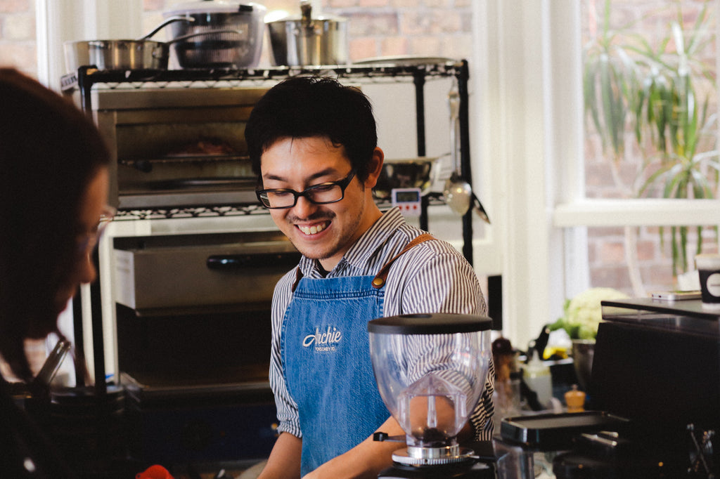 Friends of Atomic: Talking Aeropress with Kazuki Hanyuda