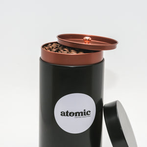 Atomic Coffee Silo