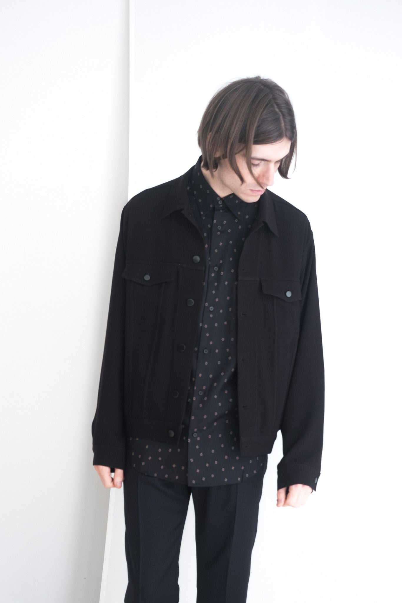 Unisex Black Bodi Jacket