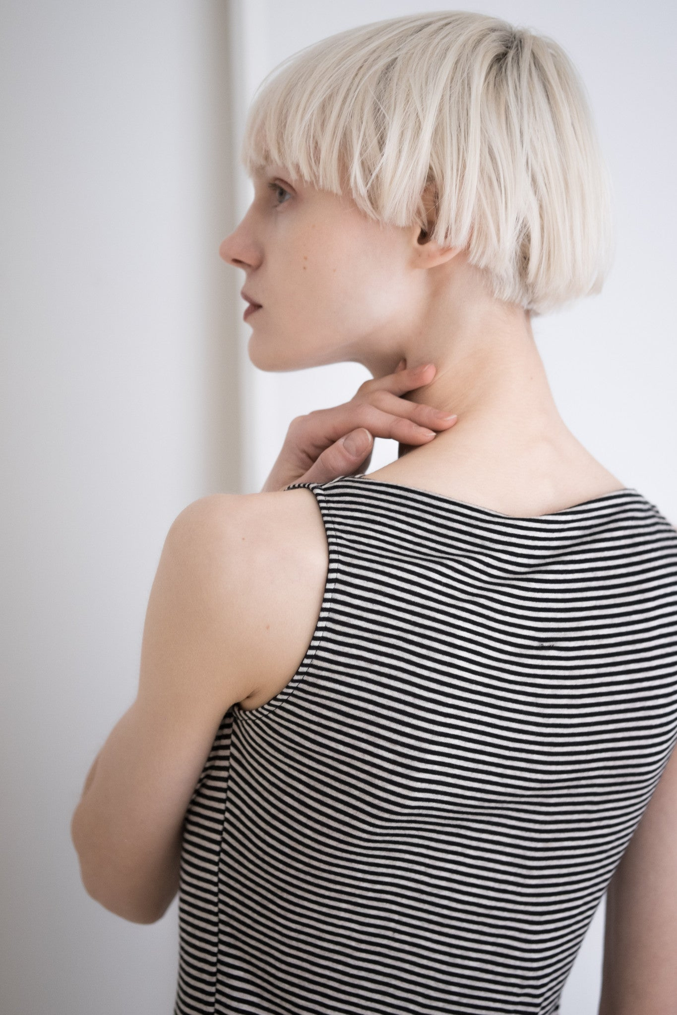 Stripe Helix Top