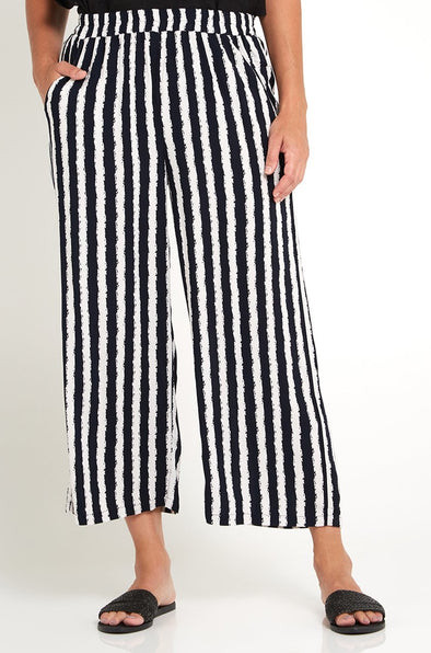 Connie Culottes - Natural/Stripe