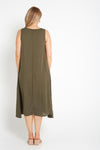 Priyanka Dress - Khaki