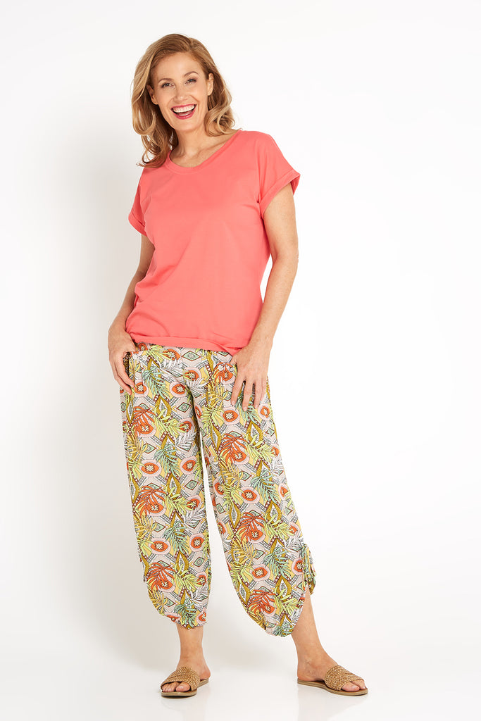 Cheyenne Pants - Yellow Tropicana