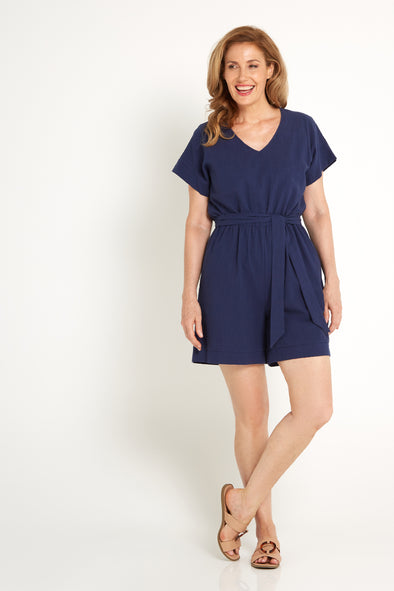 Amanda Playsuit - Navy