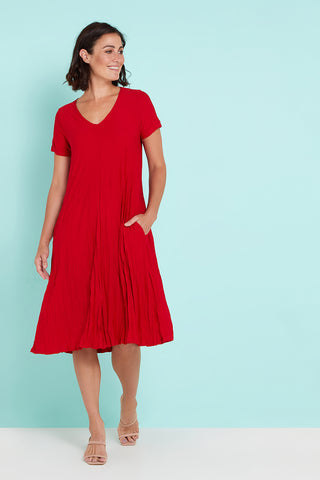 Stella Dress - Red