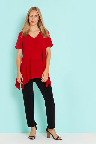 Andrea V Top - Red