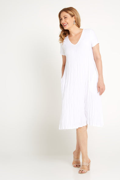 Stella Dress - White