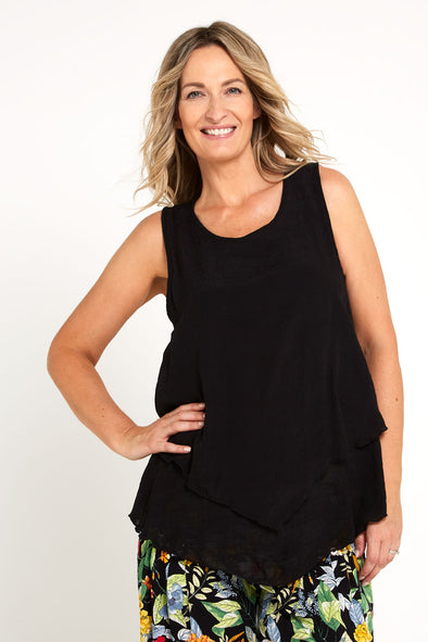 Stephanie Top - Black