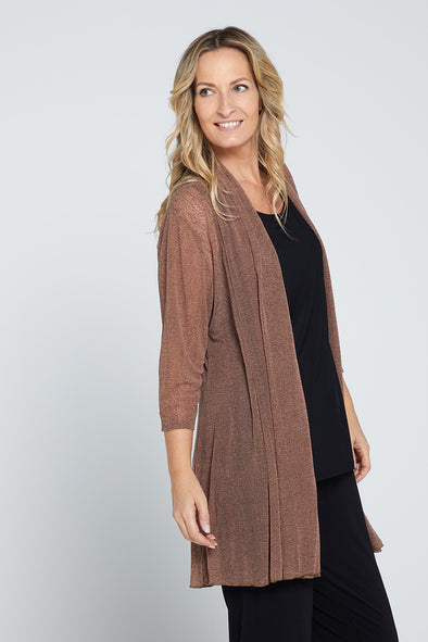 Lexie Easy Fit Jacket - Mocha