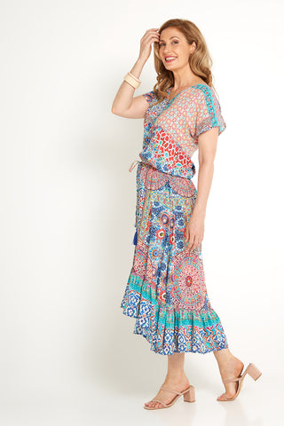 Isadora Dress - Kaleidoscope