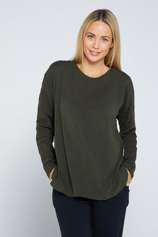 Society Sweater - Khaki