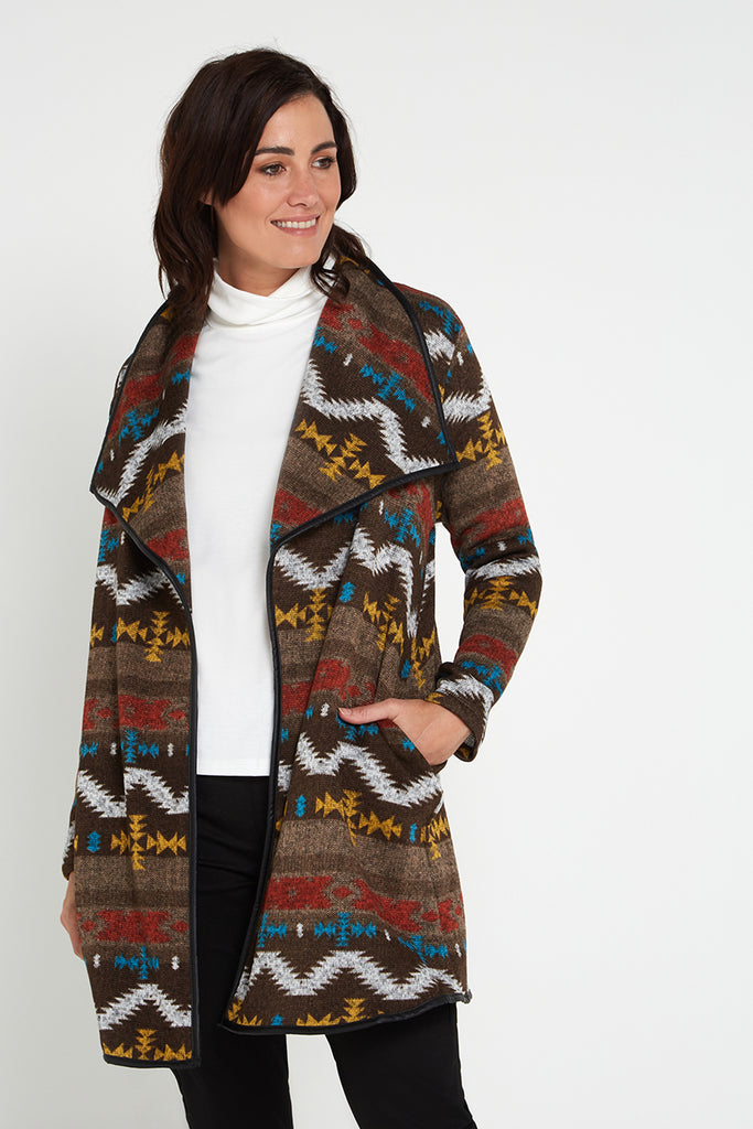 Arctic Knit Jacket - Aztec