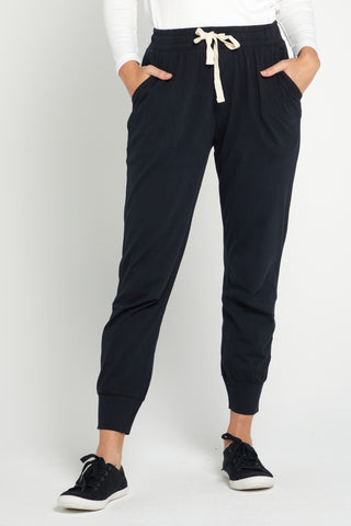 Wash Out Lounge Pants - Black