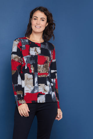 Whitley Top - Red