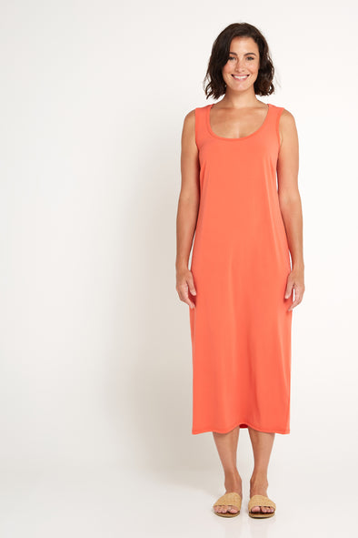 Soft Knit Midi - Peach