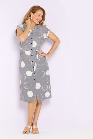 Poppins Shirt Dress - Spot