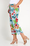 Ailana Linen Pants - Tropical Sky