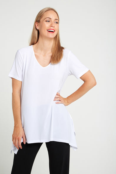 Andrea V Top - White