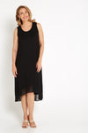 Sleeveless Sabina Dress - Black
