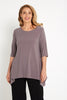 Jayah Top - Pewter