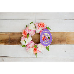 Easter Egg Wood Monogram-Home Goods-PinkandLulu.com
