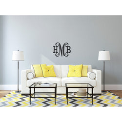 "Classic Wood Monogram 18""-Home Goods-PinkandLulu.com"