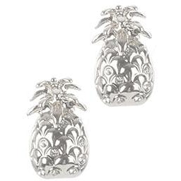 Pineapple Earring Silver
