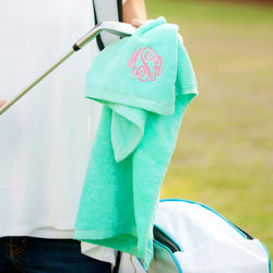 Mint Golf Towel-Sports-PinkandLulu.com