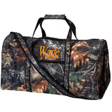 Monogrammed Duffel Bag Hunter