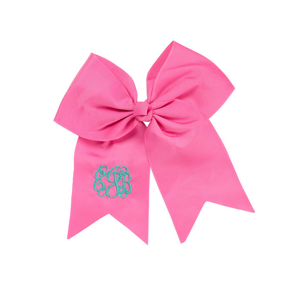 Hot Pink Hair Bow-Hair Accessory-PinkandLulu.com