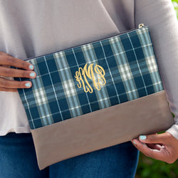 Middleton Plaid Zip Pouch
