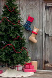 Tartan Plaid Stocking-Christmas Stocking-PinkandLulu.com