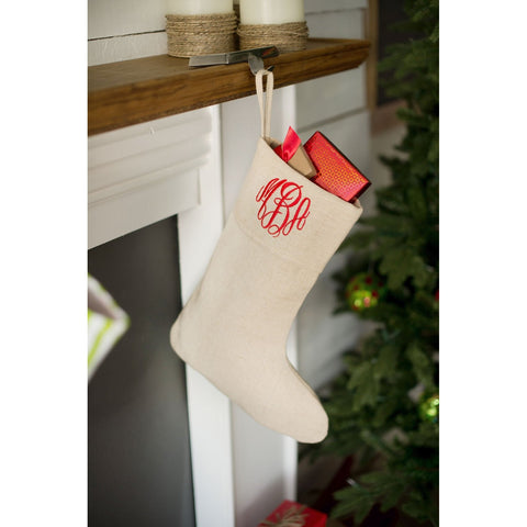 Classic Christmas Stocking-Christmas Stocking-PinkandLulu.com