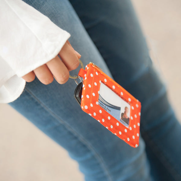 Orange Dot ID Case-Accessory-PinkandLulu.com