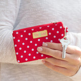 Red Dot ID Case-Accessory-PinkandLulu.com