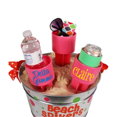 Pink Spiker® Beach Beverage Holder-Accessory-PinkandLulu.com