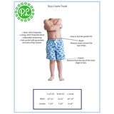 Finn Swim Trunks-Swim Wear-PinkandLulu.com