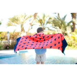 Dog Days Beach Towel-Beach Towel-PinkandLulu.com