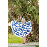 Tide Pool Sand Circle-Beach Towel-PinkandLulu.com