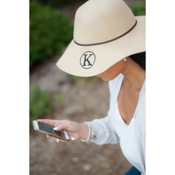 Natural Wool Floppy Hat-Hat-PinkandLulu.com