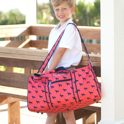Dog Days Duffel Bag-Duffel Bag-PinkandLulu.com