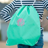 Mint Gym Bag-Gym Bag-PinkandLulu.com