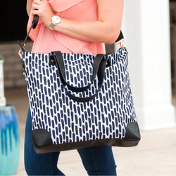 Carolina Night Shoulder Bag-Totes-PinkandLulu.com