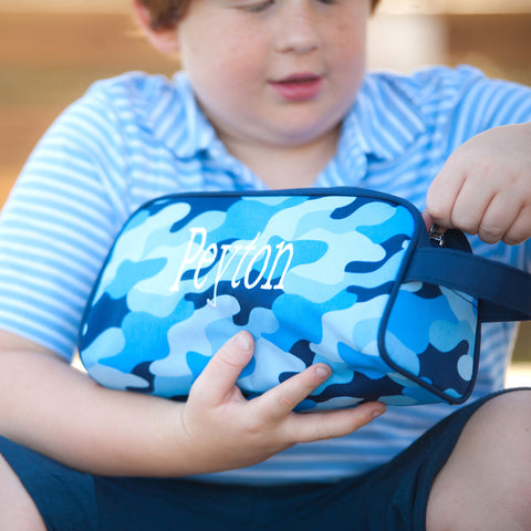Cool Camo Toiletry Bag-Travel-PinkandLulu.com