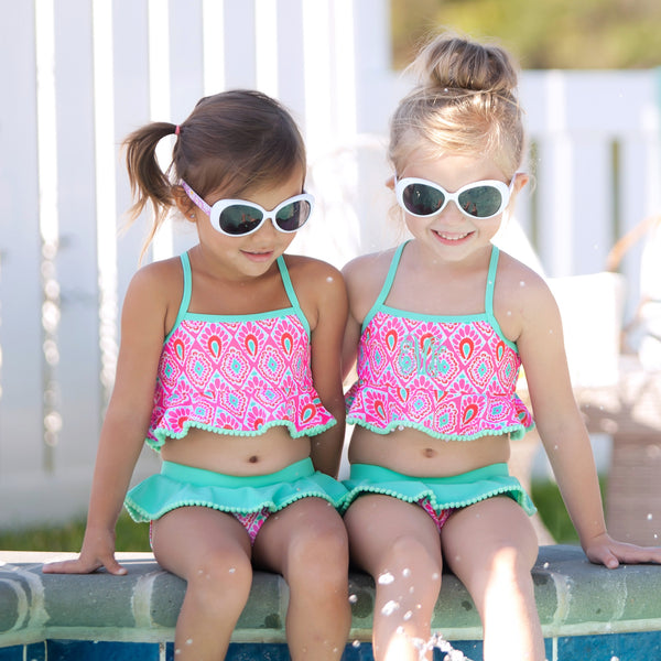 Beachy Keen Girls Swimsuit-Swim Wear-PinkandLulu.com
