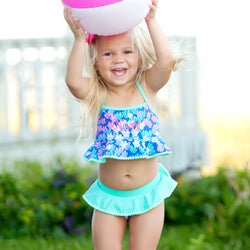Mer-Mazing Girls Swimsuit-Swim Wear-PinkandLulu.com