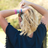 Patterned Hair Ties-Hair Accessory-PinkandLulu.com