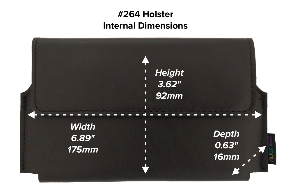 Nutshell #264 Leather Holster
